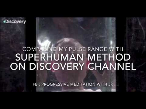COMPARED ME WITH GUINNESS SUPERHUMAN HEART RATE 39-42 BPM ON DISCOVERY CHANNEL.