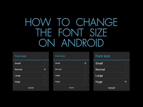 How To Change The Font Size On Android - The Blind Life