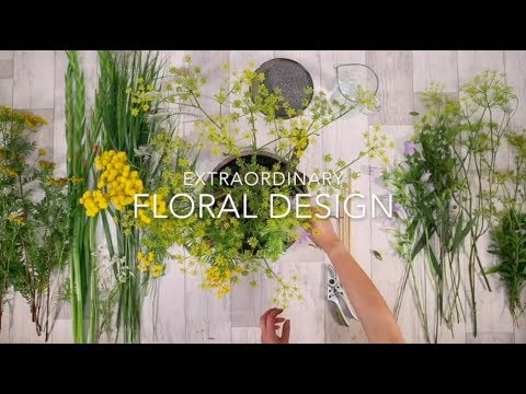 Extraordinary floral design starts with... a good base | Flower Factor's online education program