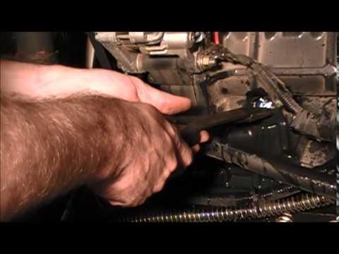 Kioti DK50SE Block Heater Install