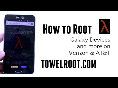 Towel Root Guide: Easiest way to root Galaxy Note 3, S5, S4 Verizon AT&T KitKat