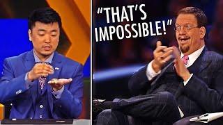 Insane Magician STUNS Penn & Teller With The BEST Coin Trick Of Season 6!