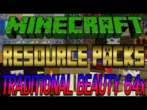 Minecraft Resource Packs - Traditional Beauty 64x [1.6.2]