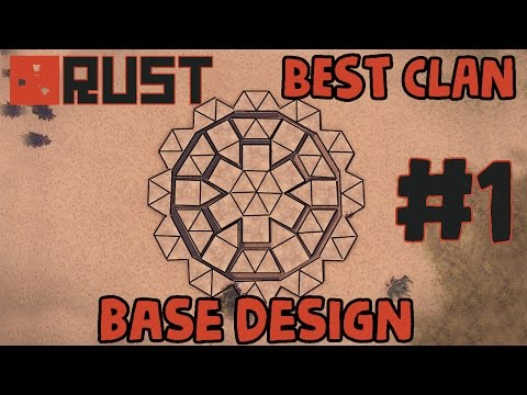 RUST BEST CLAN BASE DESIGN #1 - The Phoenix