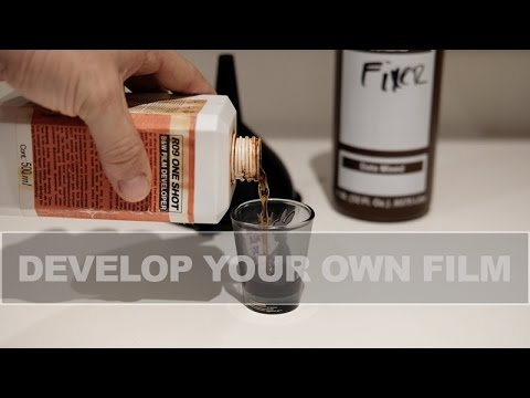 How to develop film at home! - Extremely easy!