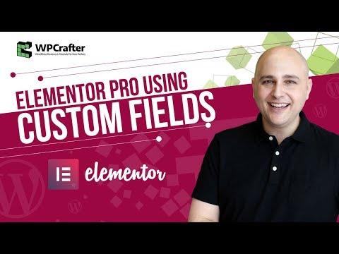 How To Use Custom Fields With Elementor Pro v2 - Next Level WordPress