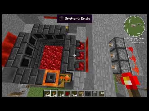 Tinker's Construct Auto Smeltery: Redstone Edition
