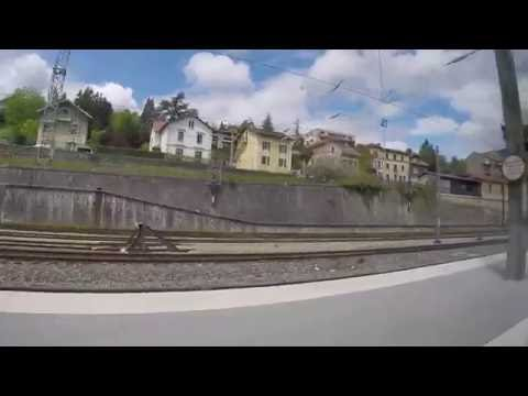 LYON - EVIAN Train Ride (FRANCE) - Part 3 - Culoz - Bellegarde