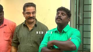 Viral video of Rakesh Unni singing Unnai Kaanaddh with Kamal Hossain