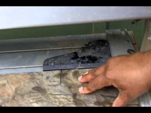 How to Use a Wet Saw to Cut Slate Tile