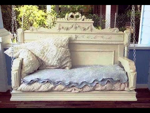 Awesome Upcycled DIY Ideas for Old Headboards