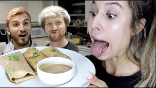 COOKING WITH KRISTEN! (Thai Shrimp Wraps)