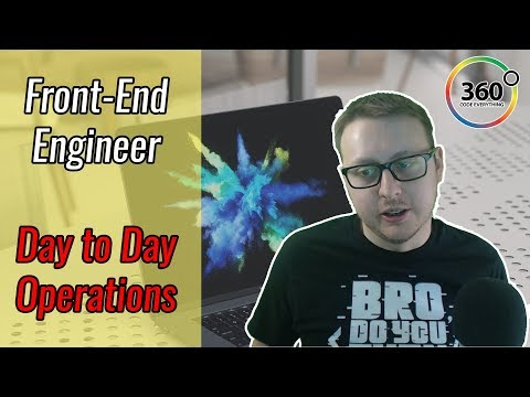 Front-End Engineer Day to Day Operations | What Does a Front-End Developer Actually Do? | Ask a Dev