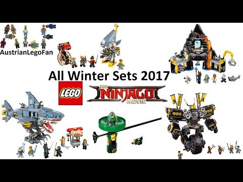 All Lego Ninjago Movie Winter Sets 2017 Compilation - Lego Speed Build Review