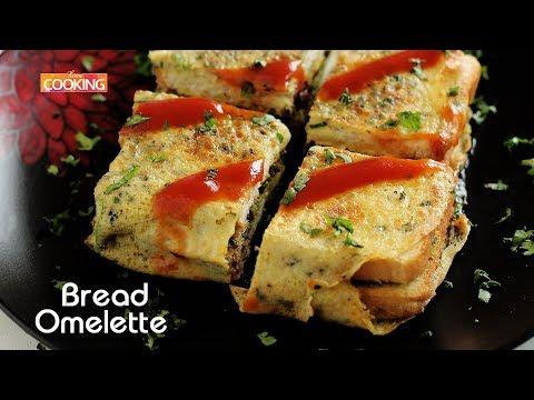 Bread Omelette Recipe | Indian Street Food | Bread Sandwich