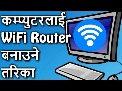 [Nepali] Create WiFi Hotspot on Windows Without Any Software