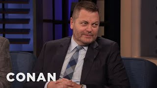 Nick Offerman: Ron Swanson Loves Powerful Women - CONAN on TBS