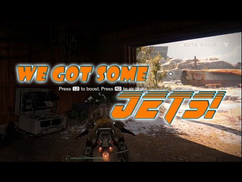 Streaming of Destiny Beta on PS4