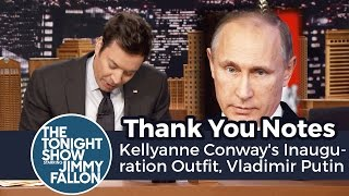 Thank You Notes: Kellyanne Conway