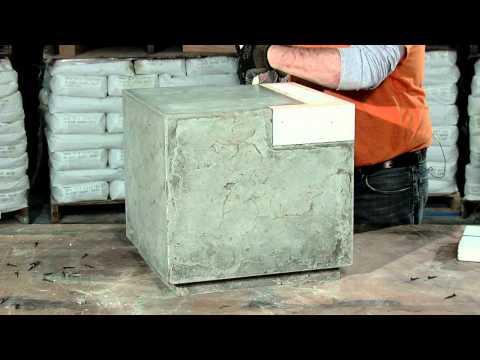 Rhomba Bench Demolding and Polishing