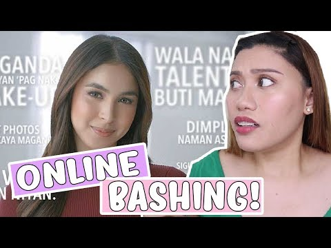 REACTION VIDEO: ONLINE BASHING? (Reacting to OPPO F7 Commercial) 💜 Purpleheiress