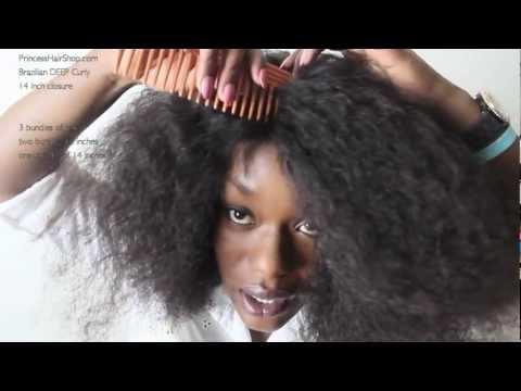 DIY Curly Lace Wig | Princess Hair Shop Brazilian