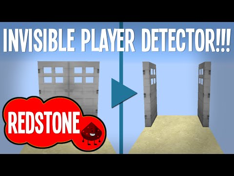 Minecraft - Invisible Player Detector (Survival friendly!)