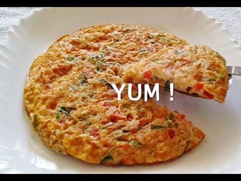 How to make Fluffy Egg Omelette