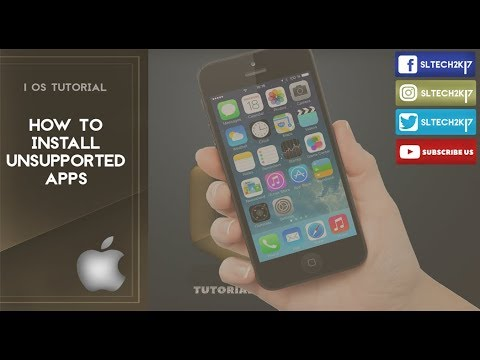 How to Install unsupported apps in iphones or ipads