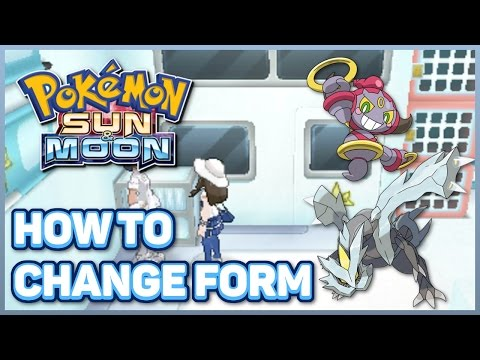 How to Change Hoopa & Kyurem Forms | How to Get Prison Bottle, DNA Splicers, and Soul Dew