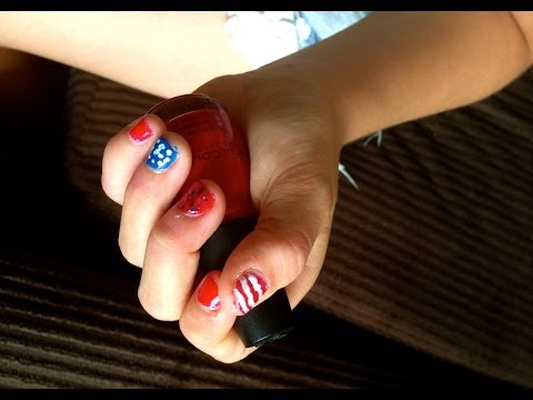 4th of July Nails + OOTD
