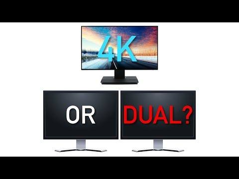 4K Monitor vs Dual Monitors: What's Right for You?
