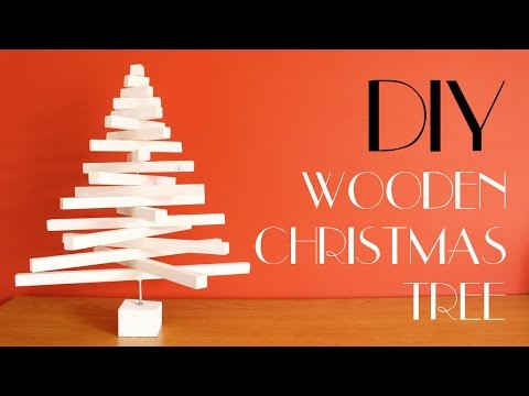 DIY - Wooden Christmas Tree