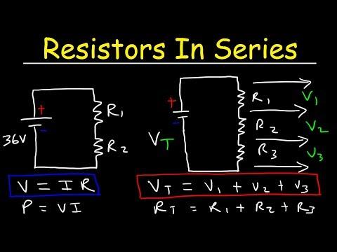 Resistors In Series - The Easy Way!