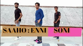 Saaho : Enni Soni Dance Video | Prabhas , Shraddha kappor | Hiten Ravish