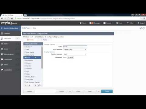 Learn How To Build a Web Application Without Coding Part 6