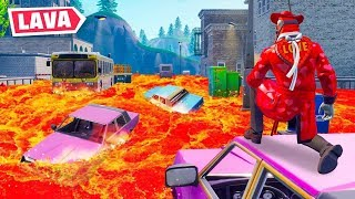 Can you Survive the LAVA in Fortnite