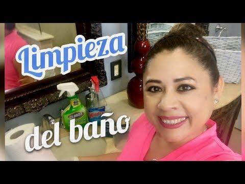 COMO LAVAR EL BAÑO  Y LA DUCHA FACIL Y RAPIDO | VINAGRE SEMANAL | BLANQUEADOR MENSUAL