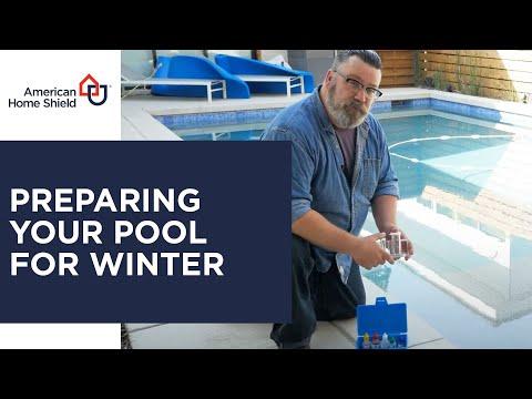 Pool Repair & Maintenance - How To Prepare Your Pool For Winter