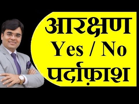 Reservation System Vs Business Opportunity for Young India   Dr. Amit Maheshwari