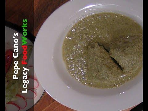 Mole Verde with Pipián
