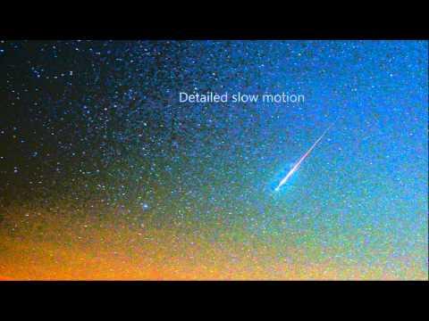 3exploding meteor timelapse