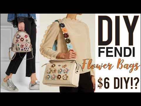 DIY: How to Make the Fendi Floral Bags $6!