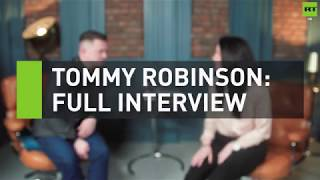 EXCLUSIVE: Tommy Robinson talks to RT about free speech