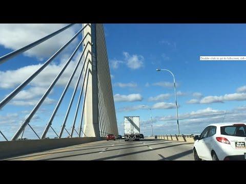 Ohio: Scenic Drive through NY, PA, toward Cleveland