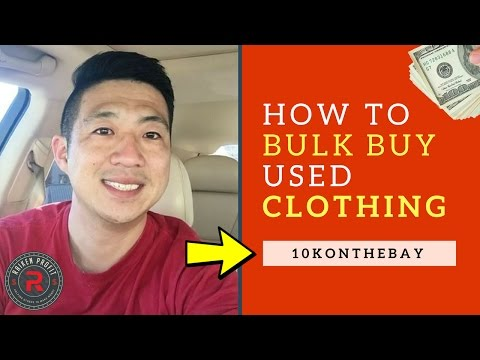 How To Bulk Buy Clothing At Garage Sales And Goodwill With 10KONTHEBAY