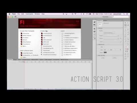 Adobe Flash CS6 | Interactive Buttons ActionScript 3.0