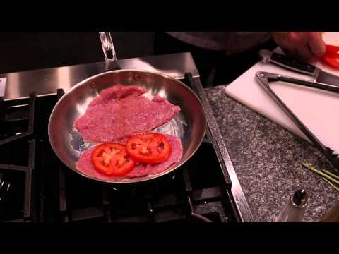 Oven-Baked Veal Scallopini : Italian Recipes