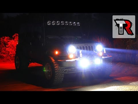 KC HiLiTES LED Headlight and Fog Light Review - Jeep