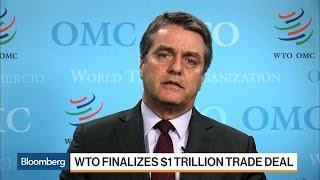 WTO Director General Azevedo on Trade, Brexit, Trump